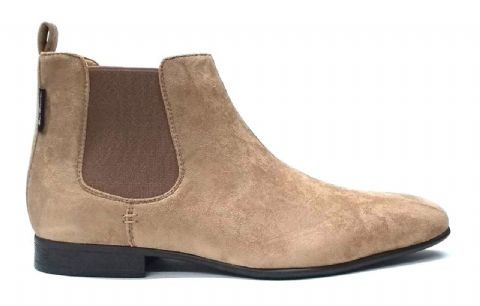 Ben Sherman Sand Suede Chelsea Boots